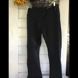 REI Ladies Black Casual Joggers Pants
